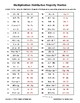 Distributive Property of Multiplication Practice - FREE
