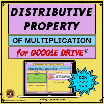 Distributive Property of Multiplication Practice Google Slides Distance Learning