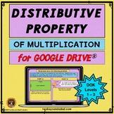 Distributive Property of Multiplication Practice Google Sl