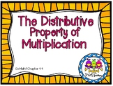 Distributive Property of Multiplication Task Cards (Grade 3 GoMath! 4.4)