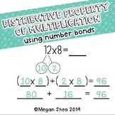 Distributive Property of Multiplication Using Number Bonds