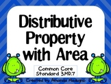 Distributive Property with Area