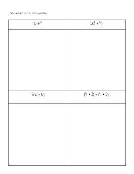 Distributive Property with Area Models