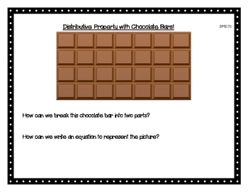 Distributive Property with Chocolate Bars!