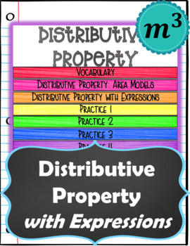 Distributive Property with Expressions (positive #s only) NOTES & QUIZ (GOOGLE)