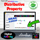 Distributive Property with Interactive Fun GOOGLE Slides™