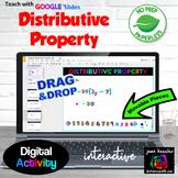 Distributive Property Digital Activity with GOOGLE Slides™