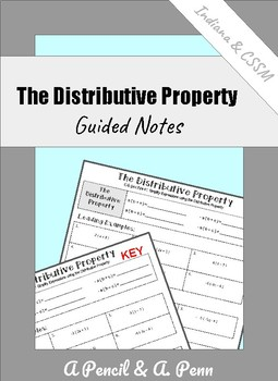 Distributive Property (with fractions)