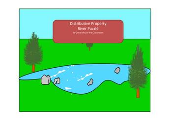 Distributive Property Bridge Puzzle