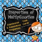 Distributive and Associative Properties of Multiplication Task Cards