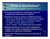 Distributive axiom applications