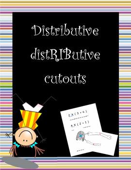 "Distributive property ""distRIButive"" cutouts"