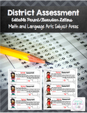 EDITABLE District Assessment Parent Letters