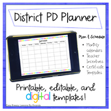 District PD Planner