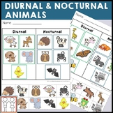 diurnal and nocturnal animals teaching resources teachers pay teachers. Black Bedroom Furniture Sets. Home Design Ideas