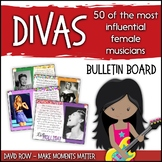 Divas! Influential Female Music Makers Bulletin Board