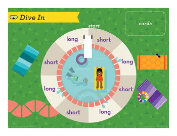 Dive In Short and Long I Phonics Game