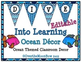 Dive Into Learning Ocean Themed Classroom Décor Set