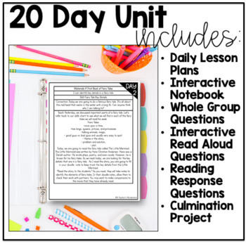 Unit 1- Gr 5 Dive Into Reading-Fairy Tales Interactive Read-Alouds, Mini-Lessons