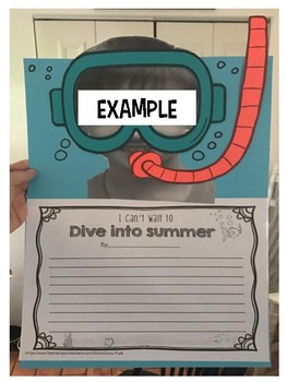 Dive Into Summer End of the Year Writing with Craft