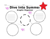Dive Into Summer graphic organizer