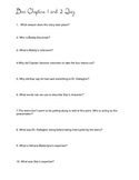 Dive Quiz: Chapters 1 and 2