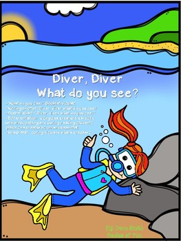 Diver, Diver What Do You See? (sealife packet)