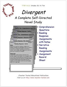 Divergent: A Complete Novel Study