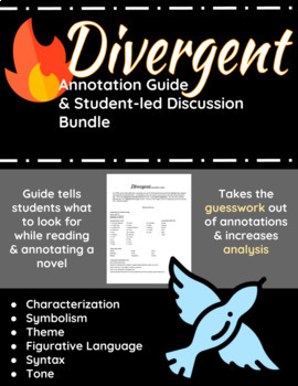 Divergent Annotation Guide and Student-led Discussion Bundle