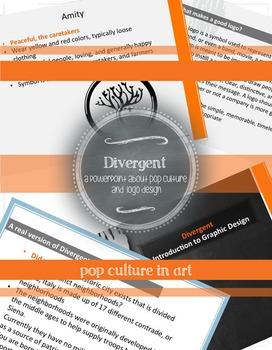 Divergent Art Lesson: Introduction to Graphic Design, Logo