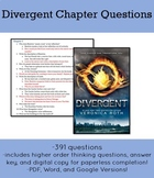 Divergent Chapter Questions-391 Questions