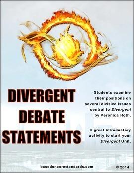Divergent Debate Statements