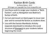 Divergent Faction Born Cards