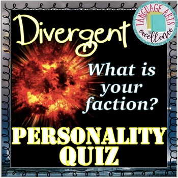 Divergent (Roth) Faction Personality Quiz
