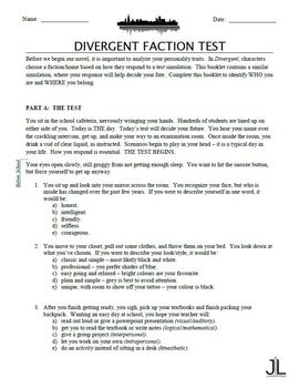 Divergent Faction Test