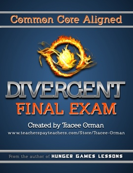 Divergent Novel Final Exam Common Core Aligned