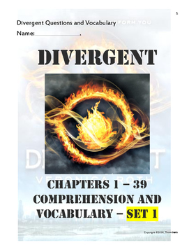 Divergent Questions and Vocabulary