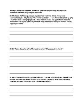Divergent Quiz 3_Chapters 14-18