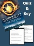 Divergent Quiz & Key