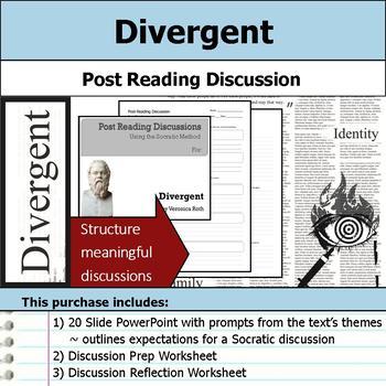 Divergent - Socratic Method - Post Reading Discussions