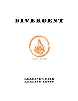Divergent:  Study Guides and Reading Tests  CCSS
