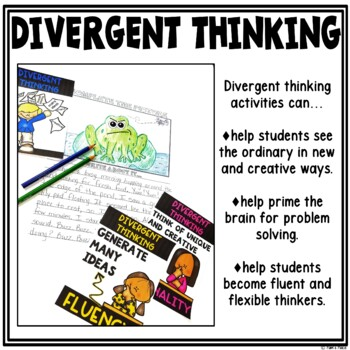 Divergent Thinking Activities and Posters