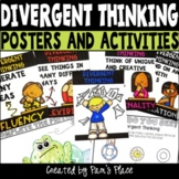 Divergent Thinking Activities and Posters | Flexible Think
