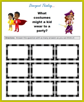Divergent Thinking (Black History Month)