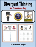 Divergent Thinking for Presidents' Day (George Washington and Abraham Lincoln)