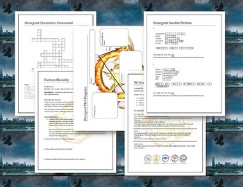 Divergent Lesson Plans - Unit Plan for Teaching Divergent by Veronica Roth
