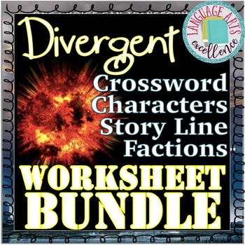 Divergent Worksheet Bundle