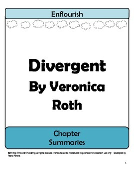 divergent by veronica roth chapter summaries