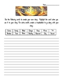 Divergent by Veronica Roth PreReading Writing Activity