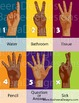 Diverse Black Brown Hand Sign Poster Banner Colorful Diversity African American